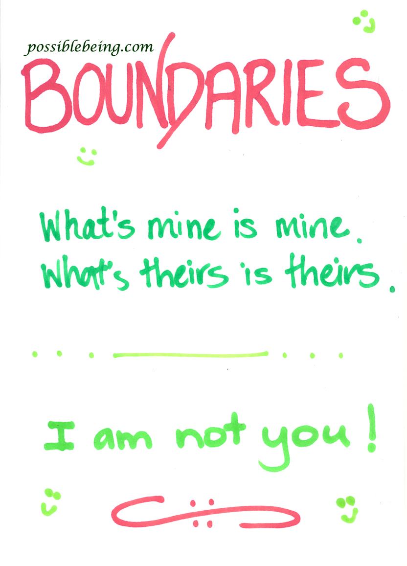personal boundaries definition
